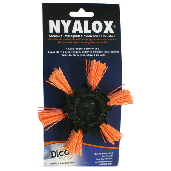 "Dico 7200045 4"" Medium Nyalox Flap Wire Brush"
