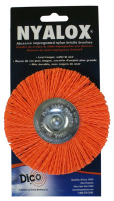"Dico 7200048 4"" Medium Nyalox Wire Wheel Brush"