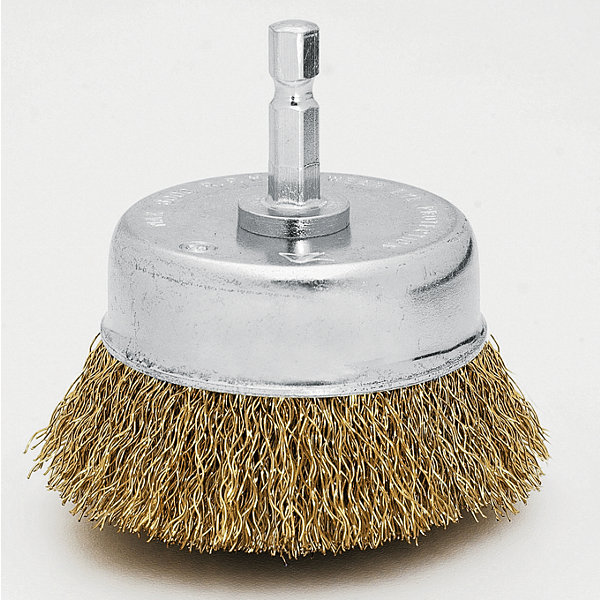 "Vermont American 16781 2"" Coarse Cup Wire Brush"