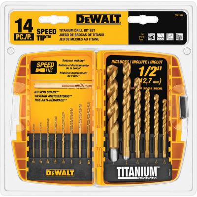 DeWalt DW1341 Drill Bit Set 14 Count