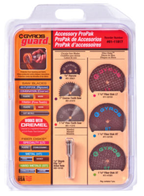 Gyros Tools 61-11817 Gyros Accessory Pro Pack