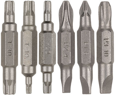Vermont American 16290 6 Piece Assorted Double Ended Power Bit Set