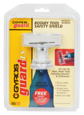 Gyros Tools 50-25010 Gyros Guard Rotary Tool Safety Shield