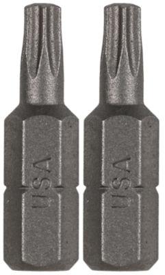 "Vermont American 15403 1"" Tx10 Extra Hard Torx Insert Power Bits 2 Count"