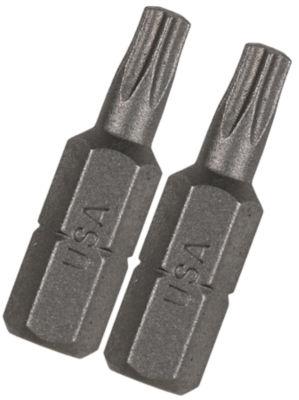 "Vermont American 15407 Tx27 1"" Extra Hard Torx Insert Power Bits 2 Count"