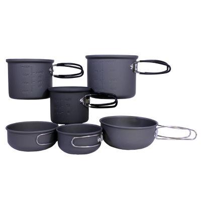 Proforce Equipment Cookware 6 Piece Essentials Mess Kit