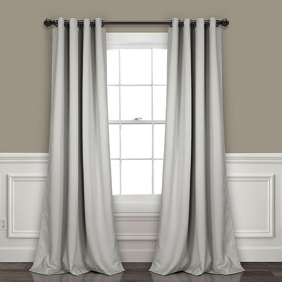 Lush Decor Insulated Grommet Blackout Curtain Panel Set