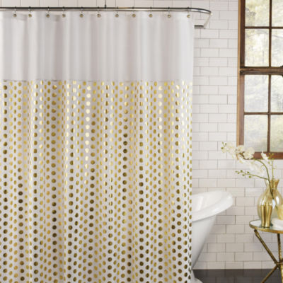 Excell Home Fashions Goldie Shower Curtain