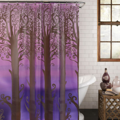 Excell Home Fashions Into The Woods Shower Curtain
