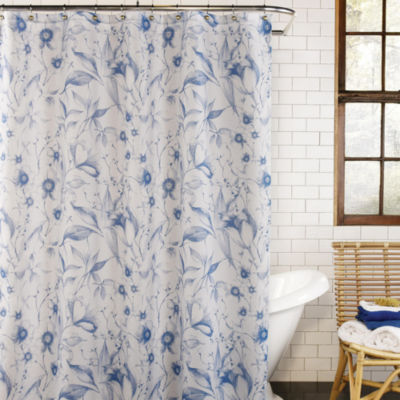 Excell Home Fashions Leilani Shower Curtain