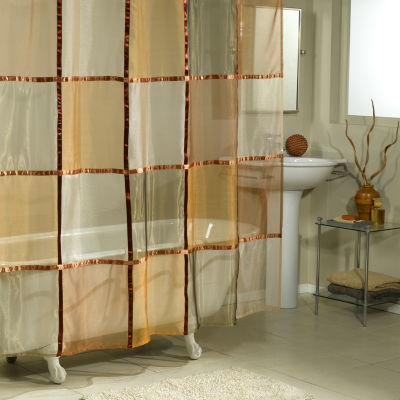 Excell Home Fashions Mosaic Shower Curtain