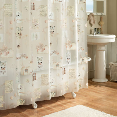 Excell Home Fashions Natures Moments Shower Curtain