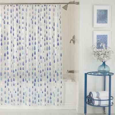 April Peva Shower Curtain