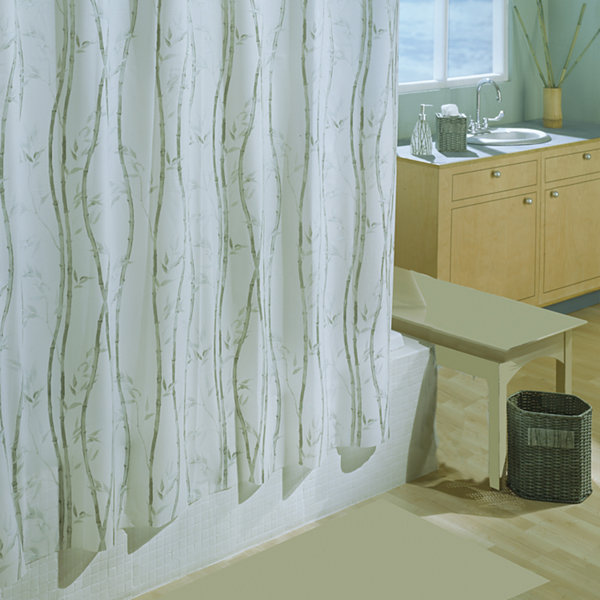 Bamboo 6g Stall Shower Curtain