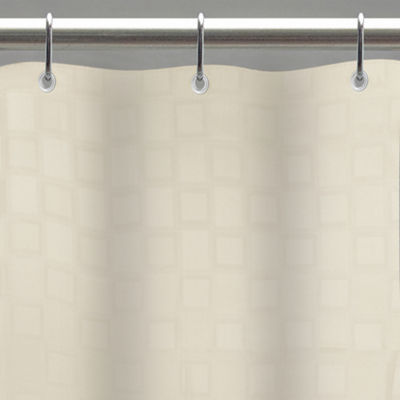 Bowery Fabric Shower Curtain Liner Woven Shower Curtain Liner