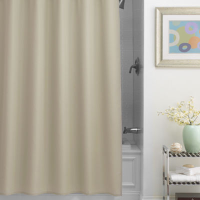 Chevron Fabric Shower Curtain Liner