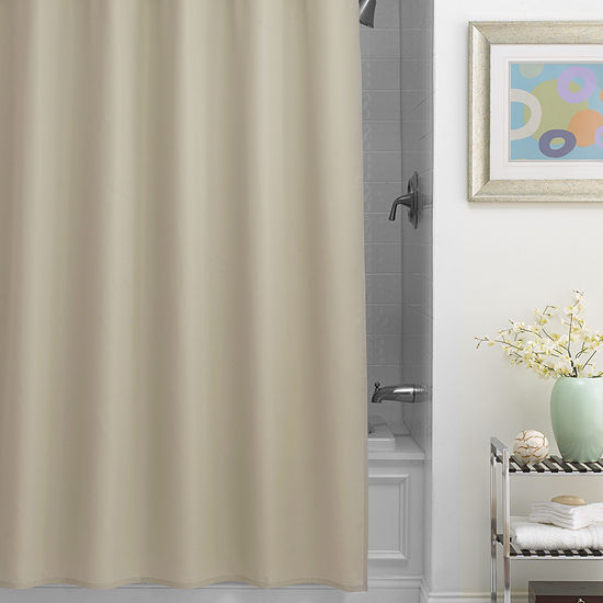Chevron Fabric Shower Curtain Liner JCPenney
