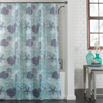 Coral Bay Peva Shower Curtain Shower Curtain