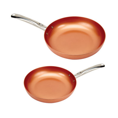 As Seen On TV Copper Chef 2-pc. Frying Pan Set