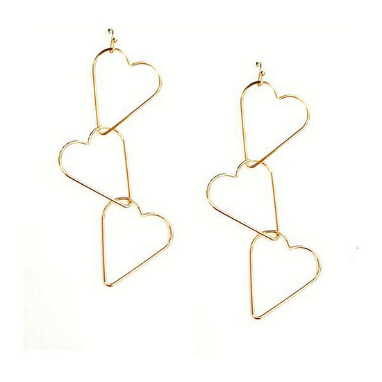Arizona Heart Drop Earrings