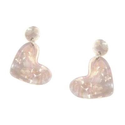 Arizona Heart Drop Earrings