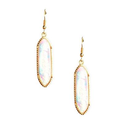 Arizona Oblong Drop Earrings
