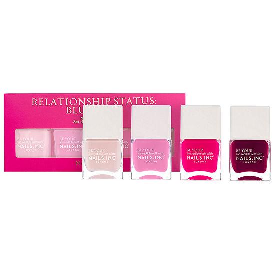 NAILS INC. Relationship Status: Blushing Nail Polish Set