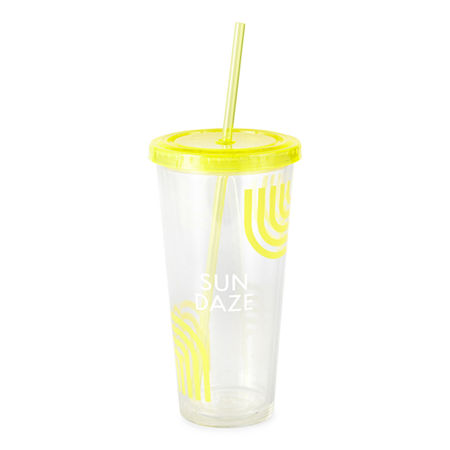 Outdoor Oasis Tumbler, One Size , Yellow