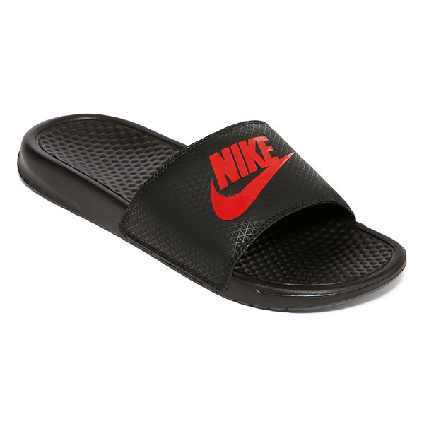 Nike Benassi Jdi Slippers Men Black/Red