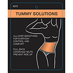 Bali Double-Support Lace Tummy Panel Light Control 2-Pack Control Briefs X372