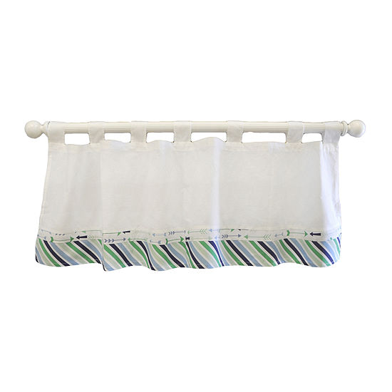 My Baby Sam Follow Your Arrow Curtain Valance