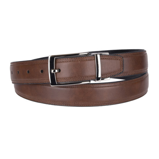Stafford® Feather Edge Reversible Men's Belt - Big & Tall