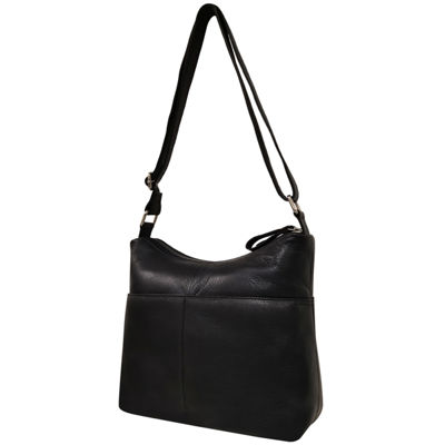 east 5th Leather Zip Hobo Bag