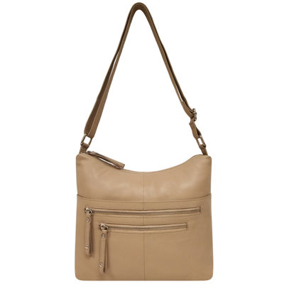 east 5th Leather Zip Hobo Hobo Bag