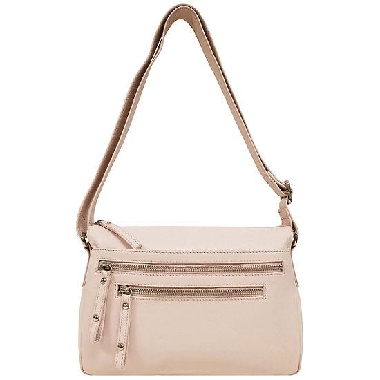east 5th Leather Triple  Zip Shoulder Shoulder Bag