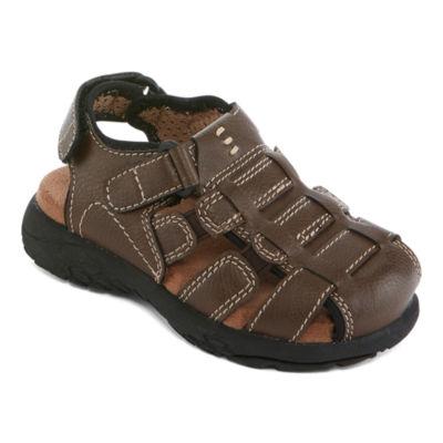 Okie Dokie Lil Coast Boys Strap Sandals - Toddler