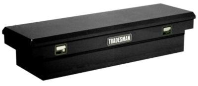Tradesman 76510T Black Steel Mid-Size Cross Bed Truck Box