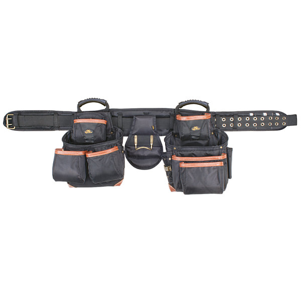 CLC Work Gear 51452 27 Pocket 4 Piece Pro Framer'sCombo System Tool Belt