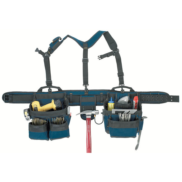 CLC Work Gear 6714 5 Piece 7 Pocket Heavy Duty Framer's Comfort Lift System