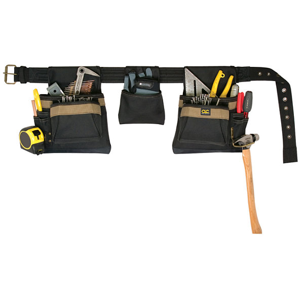CLC Work Gear 1649 4 Piece 11 Pocket Carpenter's Combo Tool Belt
