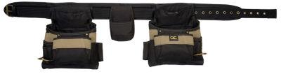 CLC Work Gear 1604 17 Pocket Tool Belt Work Apron4 Piece Set