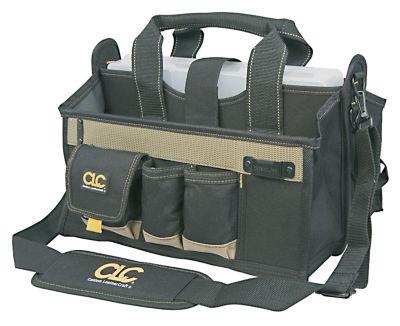 "CLC Work Gear 1529 16 Pocket 16"" Center Tray ToolBag"""