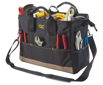 CLC Work Gear 1165 16IN Large 22 Pocket Big MouthTool Bag