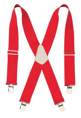 "CLC Work Gear 110RED 2"" Wide Red Work Suspenders"""