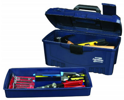 Flambeau 6518ZR 17IN Zerust Tool Brute Tool Box