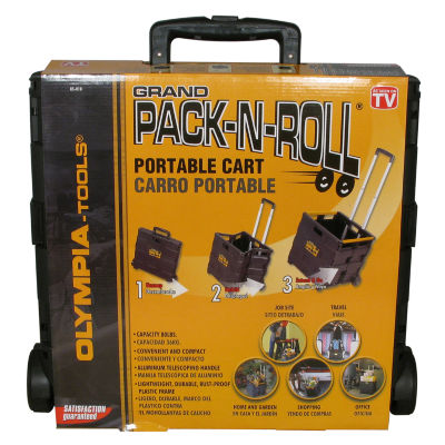 Olympia Tools 85-010 18.5IN X 18.3IN X 3.3IN BlackPortable Tool CarrierIN