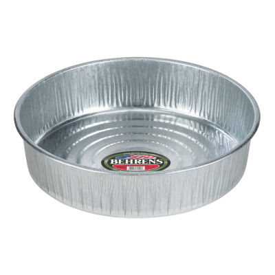 Behrens High Grade Steel 2168 3 Gallon GalvanizedSteel Utility Pan