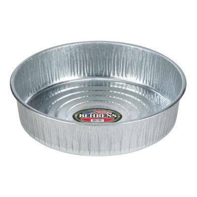Behrens High Grade Steel 2168 3 Gallon GalvanizedSteel Utility Pan