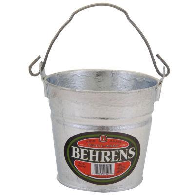 Behrens High Grade Steel 1202 2 Quart Hot Dipped Galvanized Steel Pail