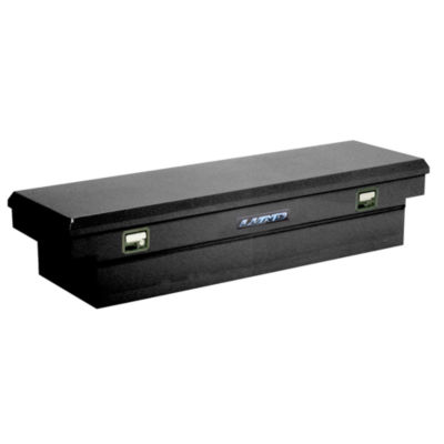 Lund 86401 Black Full-Size Steel Cross Bed Box